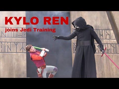 Kylo Ren joins Jedi Training show at Disney's Hollywood Studios