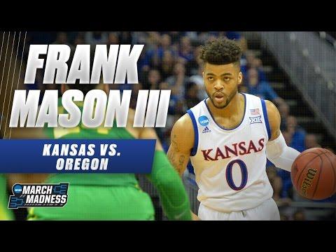 Oregon vs. Kansas: Frank Mason scores 21 points, not enough