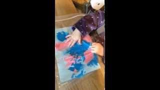 peinture propre pour bébé