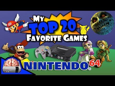 My Top 20 Nintendo 64 Games (#20-11) N64 Favorite Best 10