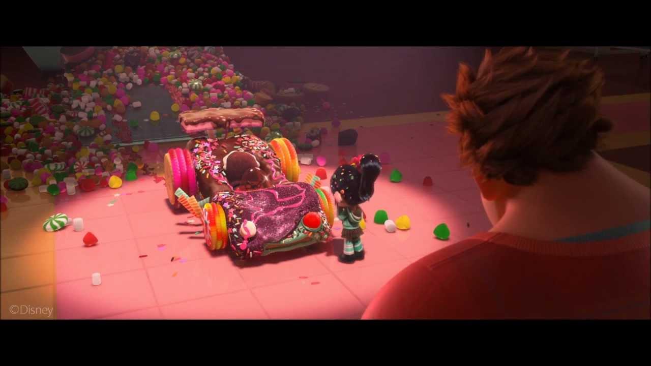 Wreck It Ralph Making A Kart Clip Hd