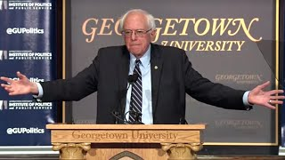 Bernie Sanders' Democratic Socialism Speech at Georgetown University 11-19-15 #BernieAtGU