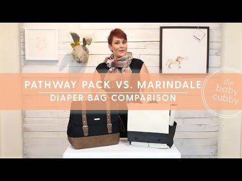Petunia Pickle Bottom Pathway Pack VS. Little Unicorn Marindale Diaper Bag Comparison