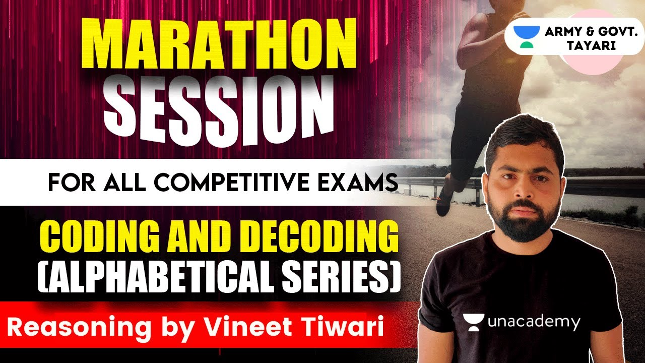 11:00 AM - All Competitive Exam | Reasoning  | Reasoning by Vineet Tiwari |Coding & decoding
