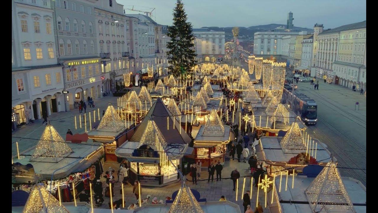 Weihnachtsmarkt In Linz