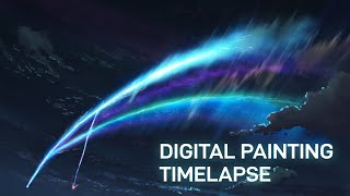 Download lagu Tiamat Comet - Digital Painting [Timelapse]