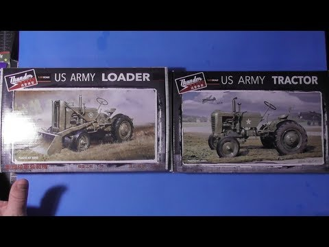 Sprue Review Thunder Models 1/35 US Army Tractor/Loader