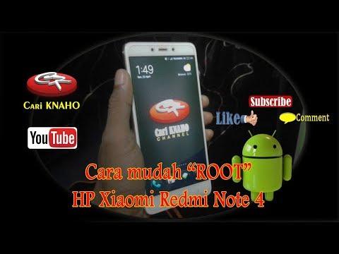 TWRP + ROOT Redmi Note 4 MIUI 11 TERBARU.