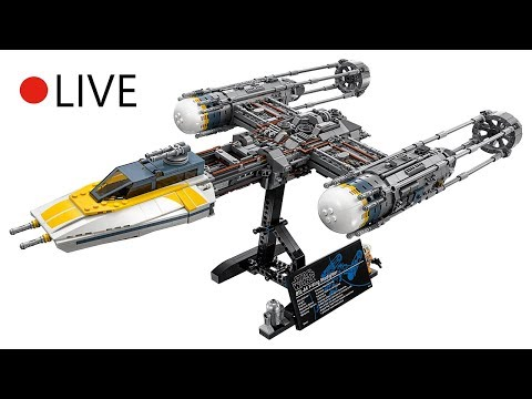 Unboxing & Build Review LEGO Star Wars UCS Y-Wing 2018 - LIVE Build ...