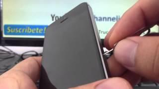 Como Quitar Y Poner La Tarjeta sim De Un Iphone 5S 5C 5 4S 4 español Channeliphone thumbnail