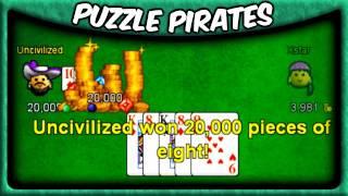 Puzzle Pirates - A Winning Poker Strategy