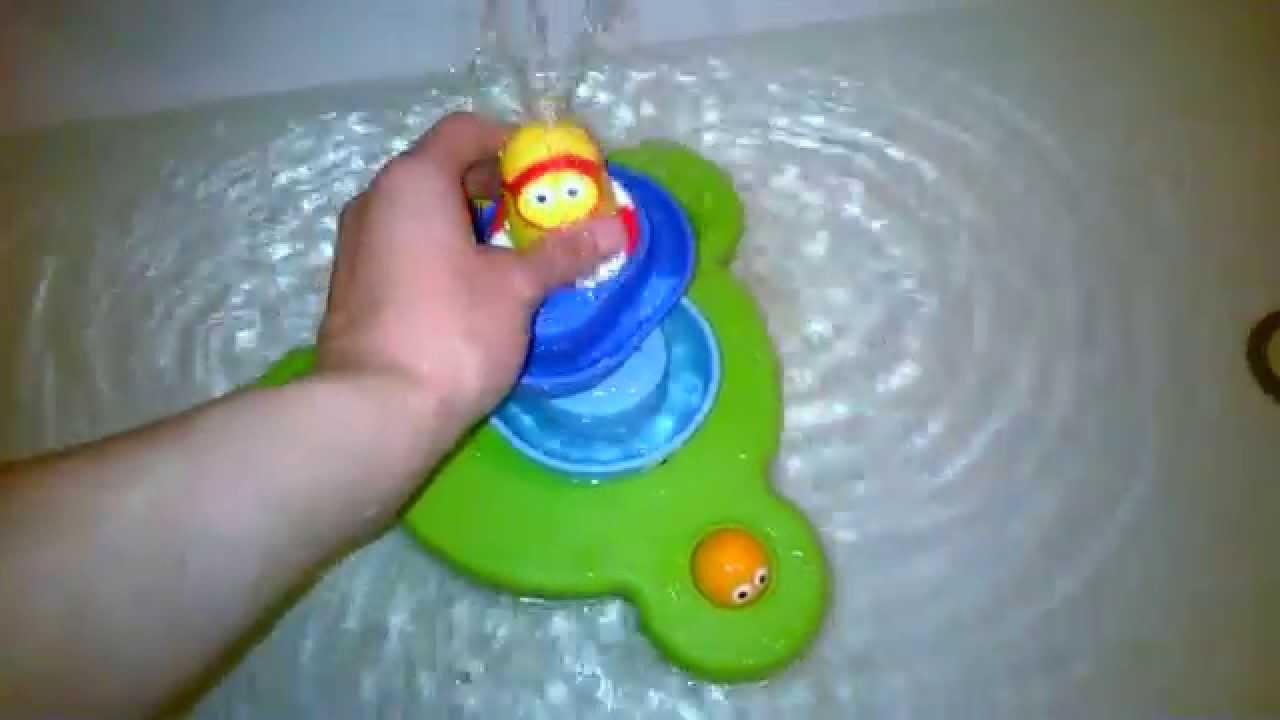 Игрушка для ванны фонтан