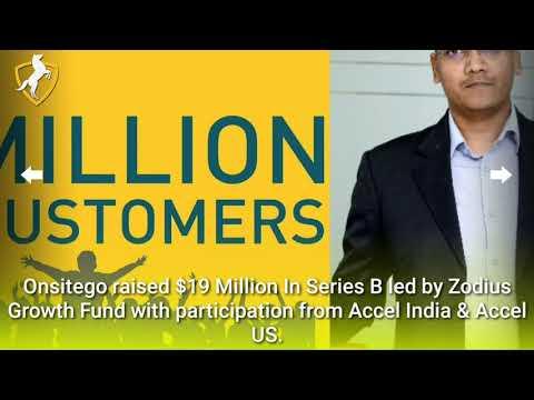 Onsitego raised $19 million from Zodius & Accel