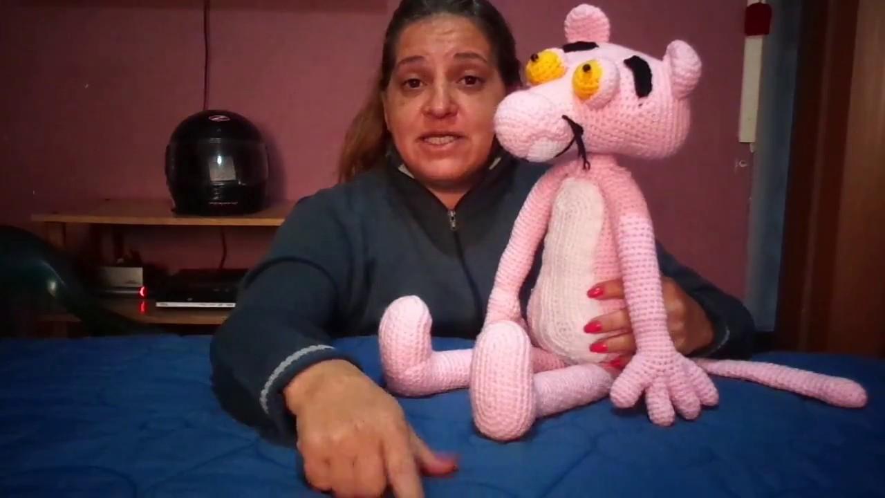 Pantera Rosa Amigurumi | How to crochet a Pink Panther Amigurumi ... | 720x1280