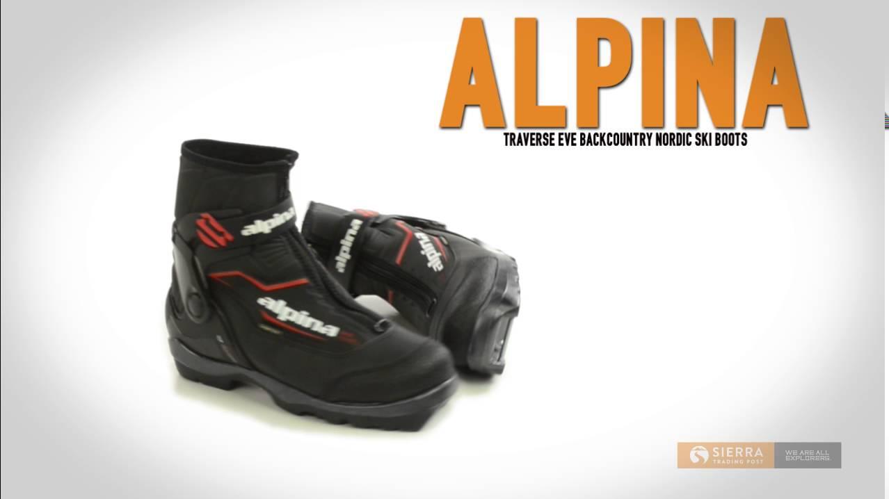 Alpina Traverse Eve Backcountry Nordic Ski Boots Insulated BC NNN - Alpina bc boots
