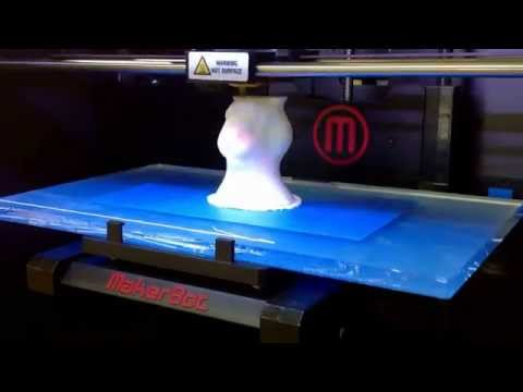 Here Comes Peter Cottontail by Gene Autry, feat. 3D Printing by our classroom MakerBot Replicator 2