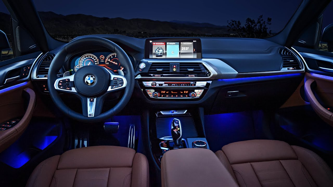 2018 bmw x3 interior design ambient lighting youtube
