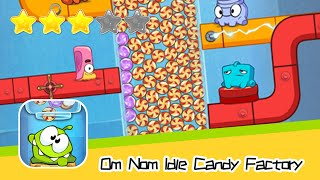 Om Nom Idle Candy Factory Walkthrough Manage your own candy factory! Recommend index three stars