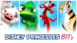 DISNEY PRINCESSES AND THEIR ANIMAL BFF