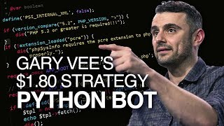 Gary Vee's $1.80 Instagram growth strategy - Python Bot
