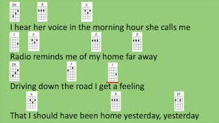 Take Me Home, Country Roads Ukulele Play-Along
