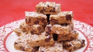 Coconut Chocolate Chip Cookie Bars Recipe: Easy: How To Make: Diane Kometa-dishin' With Di #101
