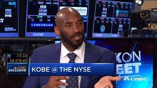 Kobe Bryant Interview at NYSE 2016