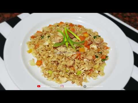 Nasi Goreng Telur ala China | Chinese Golden Fried Rice | Nasi Goreng Kuning Telur