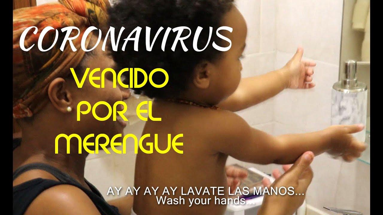 This is how Merengue Music fights Coronavirus! #LavateLasManos
