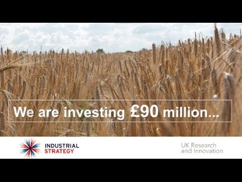 Transforming food production - part of the Industrial Strategy Challenge Fund