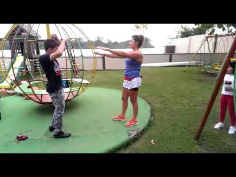 Flexibilidad, interactuando, educación fisica especial
