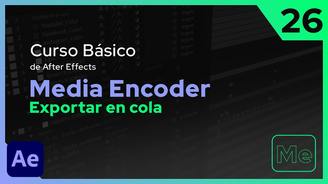 Adobe Media Encoder | After Effects - Tutorial