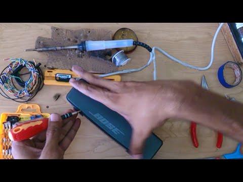 What's Inside Bluetooth Speaker   BOSE Soundlink Mini Bluetooth Speaker (Repairing)