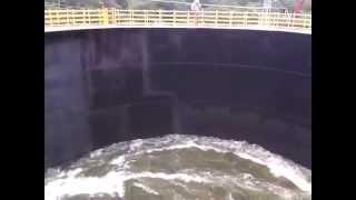 surge tank hydro power plant
