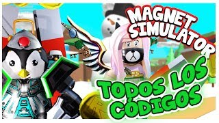 all the codes for Magnet Simulator magnets of roblox Simulator | samymoro