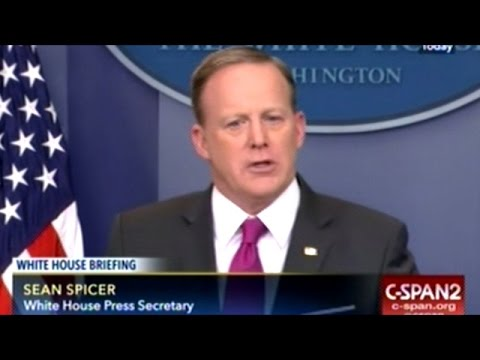 Sean Spicer Asked About Julian Assange Wanting To Help Tech Companies Combat Government Hacking