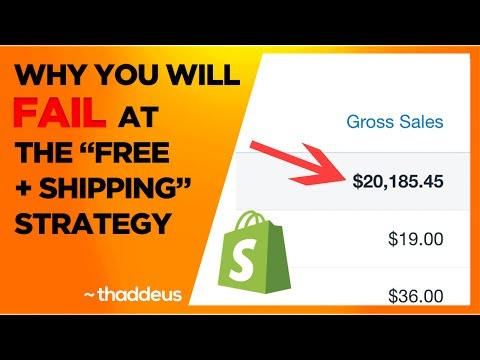 """WHY YOU FAIL AT THE """"FREE + SHIPPING"""" STRATEGY"""