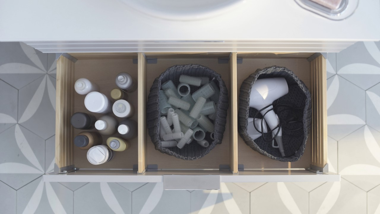 IKEA   Die Kunst Der Organisation: Stauraum Im Badezimmer