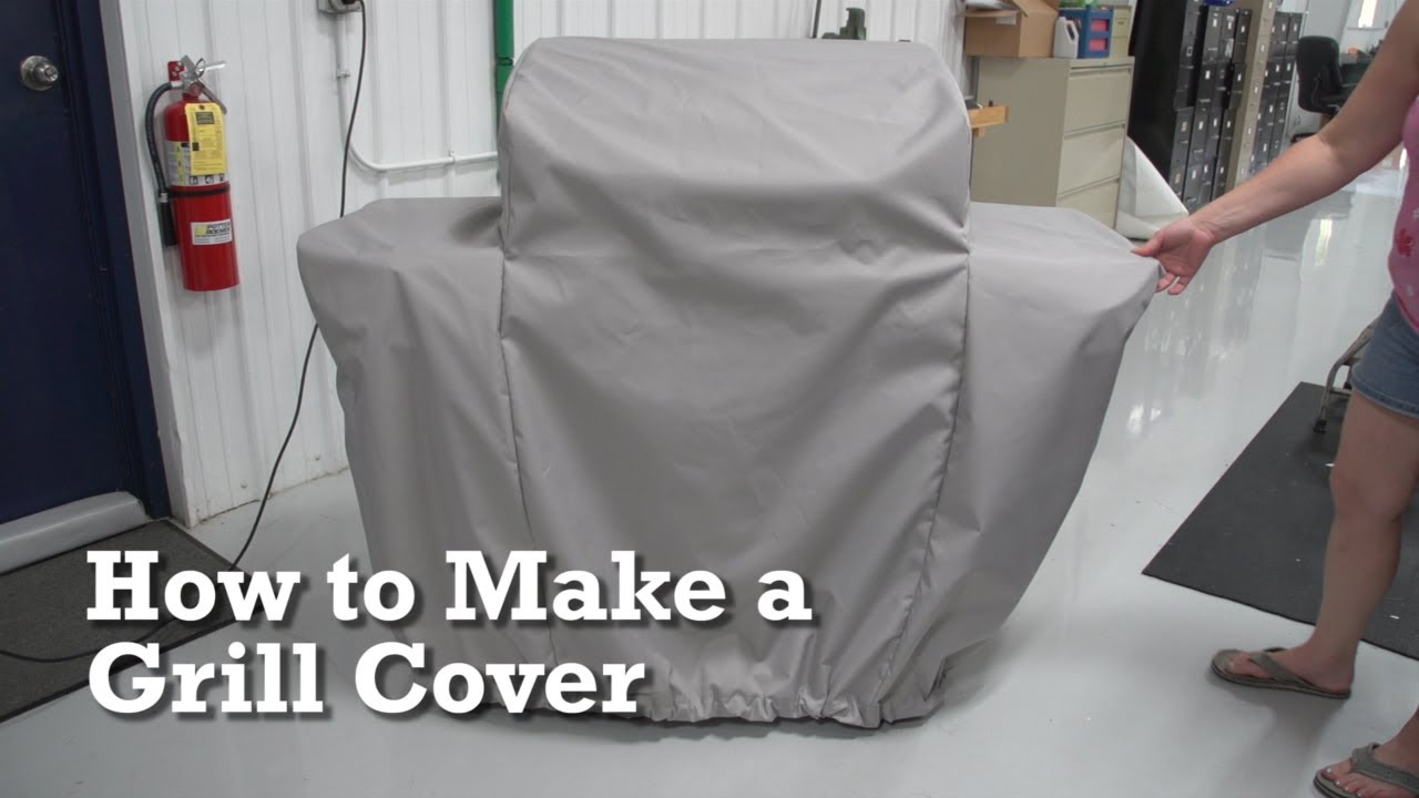 How To Make A Grill Cover Youtube
