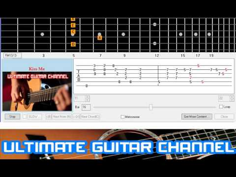 Guitar Solo Tab Kiss Me Sixpence None The Richer Youtube