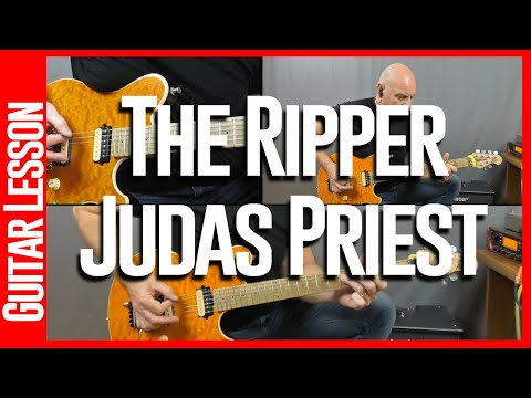 The Ripper By Judas Priest - Guitar Lesson