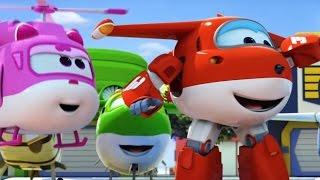 Супер Крылья: Джетт и его друзья - 26 серия - Мультик про самолеты трансформеры на русском