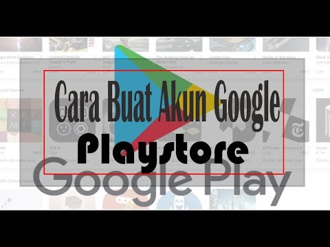 cara membuat akun email google play store di hp android.