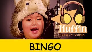 Repeat youtube video Bingo | Family Sing Along - Muffin Songs