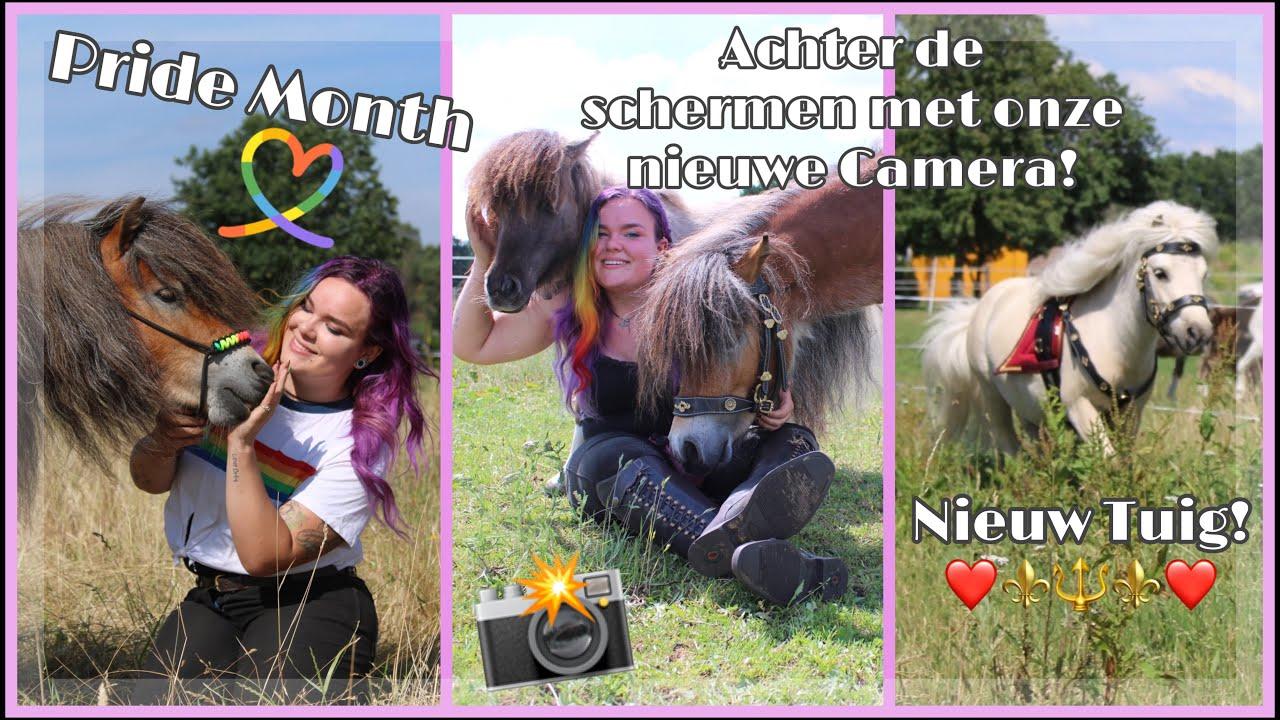 Achter De Schermen! Foto's Maken Met Onze Nieuwe Camera & Nieuw Tuig!   Vlog #28   My Little Ponies