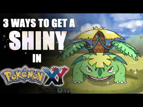 3 Ways to Get a Shiny Pokémon in X & Y - Tamashii Hiroka