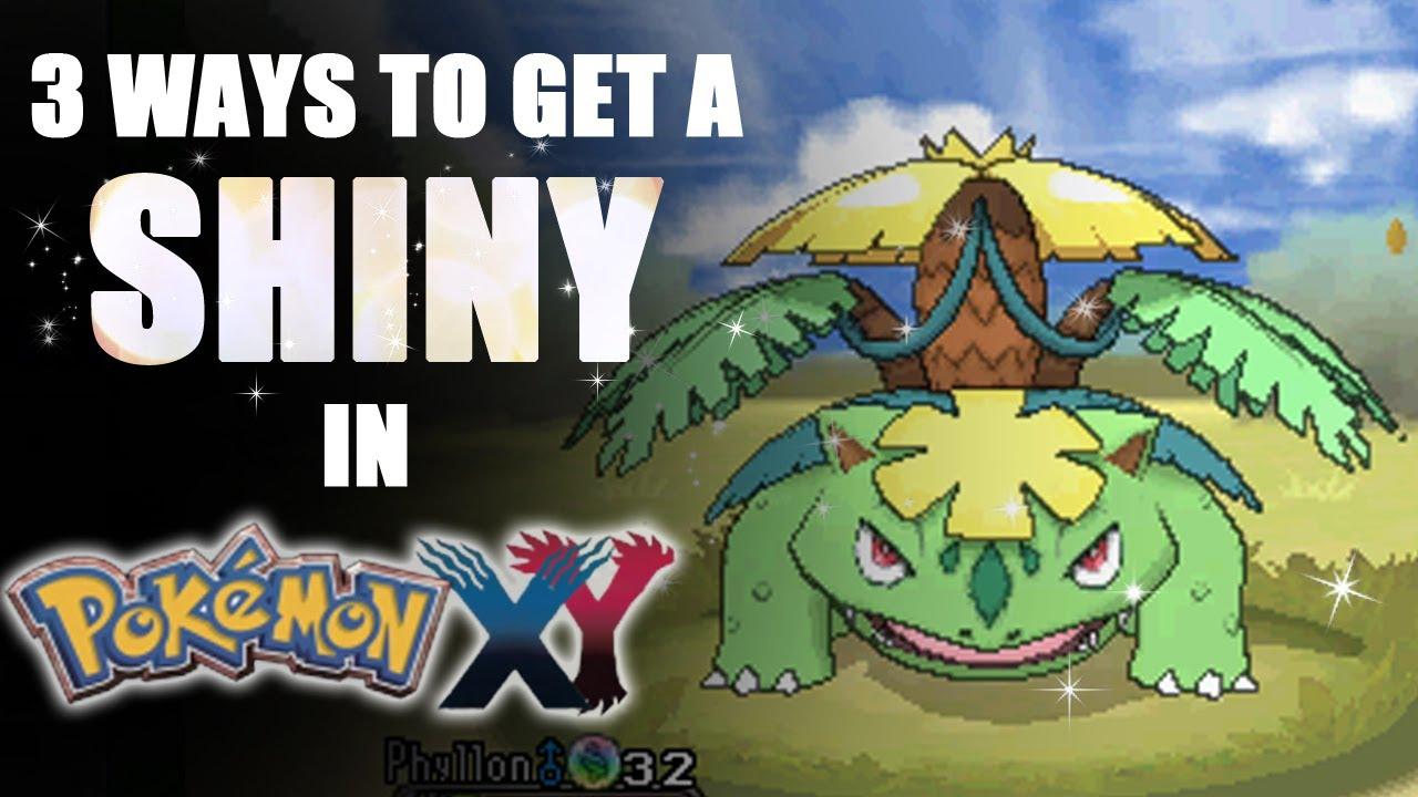 3 Ways to Get a Shiny Pokémon in X & Y - Tamashii Hiroka ...