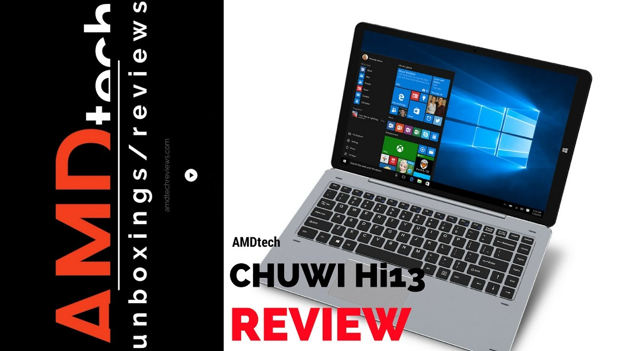 Chuwi Hi13 Review: Windows 10 2-in-1 with Surface Book Display Stylus \u0026 Keyboard