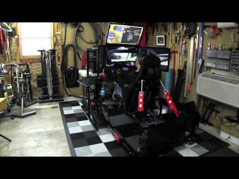 SimXperience Stage IV with Traction Loss and GS-4 Seat - YouTube