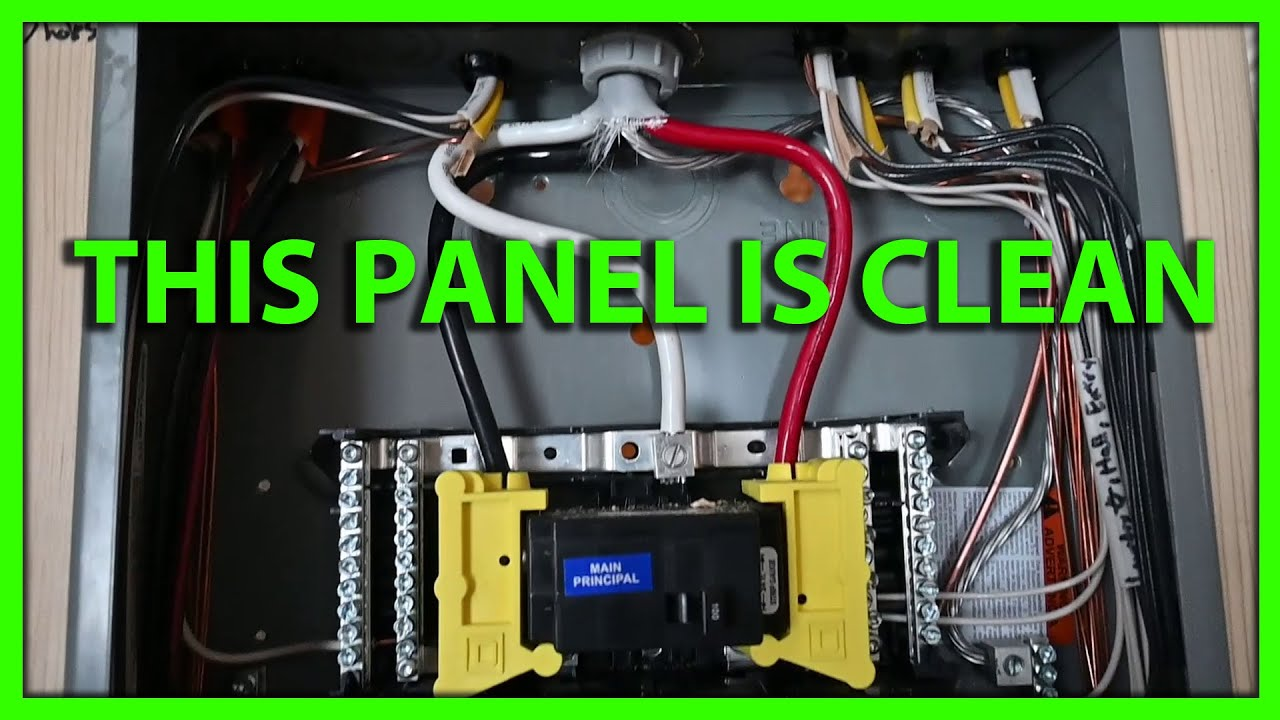 How To Install A Sub Panel Start, Residential 100 Amp Sub Panel Wiring Diagram